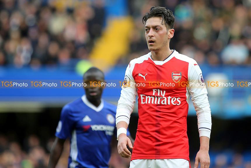 Mesut Ozil of Arsenal during Chelsea vs Arsenal, Premier League Football at Stamford Bridge on 4th February 2017