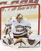 Cory Schneider - The Boston College Eagles defeated Northeastern University Huskies 5-3 on Saturday, November 19, 2005, at Kelley Rink in Conte Forum at Chestnut Hill, MA.