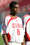 13 March 2008: Francisco Alexei Carrazana (CUB) (8). The Honduras U-23 Men's National Team defeated the Cuba U-23 Men's National Team 2-0 at Raymond James Stadium in Tampa, FL in a Group A game during the 2008 CONCACAF's Men's Olympic Qualifying Tournament.