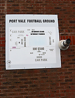 A general view of Vale Park, home of Port Vale FC<br /> <br /> Photographer Andrew Vaughan/CameraSport<br /> <br /> The EFL Sky Bet League Two - Port Vale v Lincoln City - Saturday 13th October 2018 - Vale Park - Burslem<br /> <br /> World Copyright © 2018 CameraSport. All rights reserved. 43 Linden Ave. Countesthorpe. Leicester. England. LE8 5PG - Tel: +44 (0) 116 277 4147 - admin@camerasport.com - www.camerasport.com