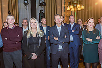 Rotterdam, Netherlands, 09 Februari, 2018, City Hall, Official Draw,   guestst<br /> Photo: Tennisimages/Henk Koster