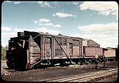 Rotary #OY at Chama.<br /> D&amp;RGW  Chama, NM  Taken by Maxwell, John W. - 1941