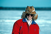Hat made from a Red Fox (Vulpes vulpes) pelt in the Upper Peninsula of Michigan.