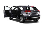 Car images close up view of a 2019 Honda HR-V Sport 5 Door SUV doors