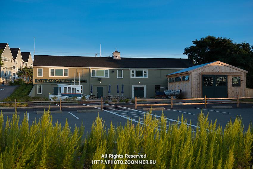 Cape Cod Maritime Museum in Hyannis, Cape Cod, Massachusetts