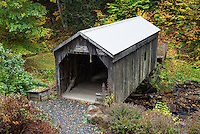 Copeland Covered Bridge, Edinburg, New York, USA.