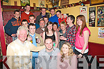 2973-2976.---------.Party people.------------.Brian Bowler,Manor,Tralee,celebrated his 21st birthday last Saturday night in the Sportsfield bar,Boherbue,Tralee with lots of friends and family.