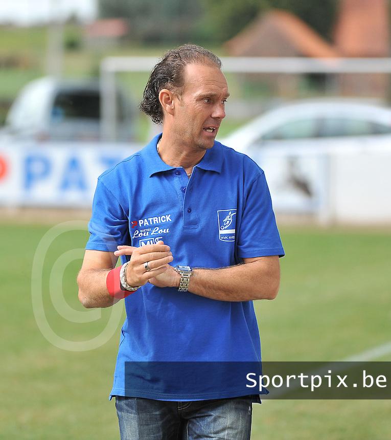 KVK Avelgem : Pascal De Vreese<br /> foto VDB / Bart Vandenbroucke