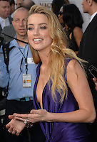 Actress Amber Heard at the world premiere of her movie &quot;Magic Mike XXL&quot; at the TCL Chinese Theatre, Hollywood.<br /> June 25, 2015  Los Angeles, CA<br /> Picture: Paul Smith / Featureflash