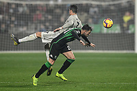 Pol Lirola Sassuolo, Cristiano Ronaldo Juventus<br /> Reggio Emilia 10-2-2019 Stadio Mapei, Football Serie A 2018/2019 Sassuolo - Juventus<br /> Foto Andrea Staccioli / Insidefoto