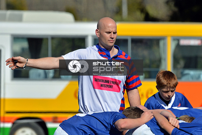 U11 Rep Rugby, Nelson v Buller, 24th August 2014, Murchison, Photo: Barry Whitnall / shuttersport.co.nz