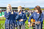 cheering on the Desmonds at the Celebrity Banisteoir match in Castleisland on Saturday