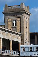 France, Manche (50), Cotentin, Cherbourg, musée Cité de la Mer, site historique de la gare transatlantique // France, Manche, Cotentin, Cherbourg, museum Cite de la Mer (city of the sea), historic site where the transatlantic liners departed -