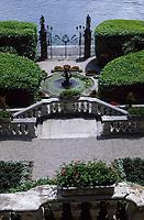 Europe/Italie/Lac de Come/Lombardie/Tremezzo : Villa Carlotta (XVIII°) - Les jardins