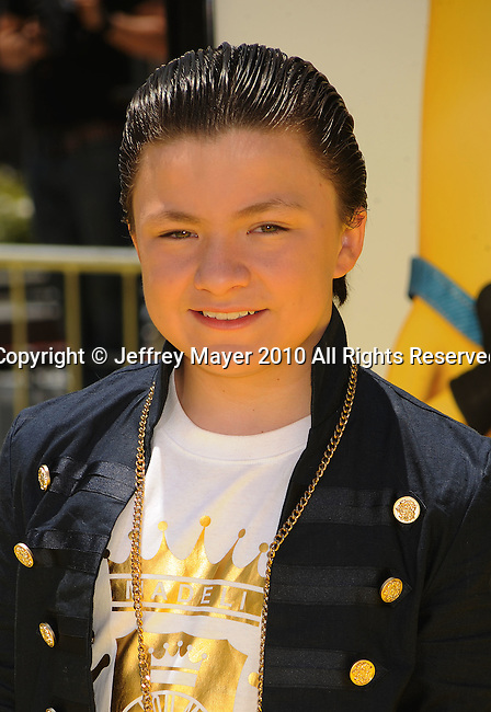 "LOS ANGELES, CA. - June 27: Joseph Castanon arrives at the 2010 Los Angeles Film Festival - ""Despicable Me"" Premiere on June 27, 2010 in Los Angeles, California."
