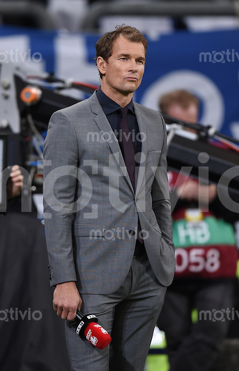 Fussball International EM 2016-Qualifikation  Gruppe D  in Gelsenkirchen 14.10.2014 Deutschland - Irland Jens LEHMANN (RTL Experte) vor dem Spiel.