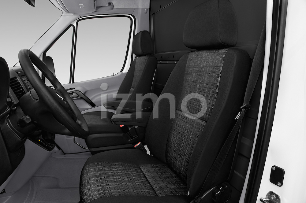 Front seat view of 2016 Mercedes Benz Sprinter 2500-144-WB-High-Roof 4 Door Cargo Van Front Seat  car photos