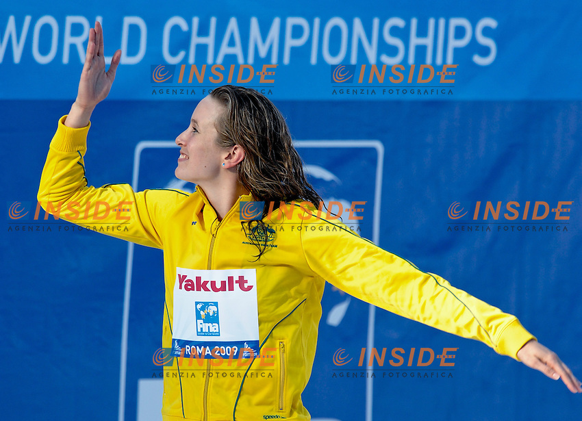 Roma 1st August 2009 - 13th Fina World Championships .From 17th to 2nd August 2009.Women's 50m Butterfly.Marieke GUEHRER (AUS) Gold Medal.Roma2009.com/InsideFoto/SeaSee.com . .Foto Andrea Staccioli Insidefoto