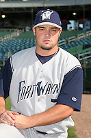 Fort Wayne Wizards Josh Alley poses for a photo before a Midwest League game at Oldsmobile Park on July 13, 2006 in Fort Wayne, Indiana.  (Mike Janes/Four Seam Images)
