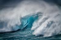Waves off Hookipa  Beach. Maui, Hawaii