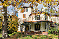 The historic Locust Grove Estate house, Poughkeepsie, New York, USA
