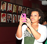 Carmen Ruby Floyd.attending the celebration for Norm Lewis receiving a Caricature on Sardi's Hall of Fame in New York City on 5/30/2012
