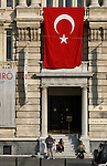 Pera Museum, Istanbul, Turkey. Beyoglu district also known as Pera includes neighborhoods like Galata,  Karakoy,  Tepebasi, Tarlabasi, Dolapdere and Kasimpasa and is connected to the old city center across the Golden Horn through the Galata Bridge and Unkapani Bridge. Beyoglu is the most active art, entertainment and night life center of Istanbul.
