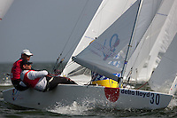 Medemblik - the Netherlands, May 28th 2010. Delta Lloyd Regatta in Medemblik (26/30 May 2010). Day 3. Star
