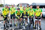 John F O'Sullivan, Derry O'Sullivan, Edward Casey, Donagh O'Regan, John O'Donoghue, David Heasman, Bernard Murphy and Francisco Silvestre at the Stephenie O'Sullivan Memorial Cycle at Milton on Sunday.