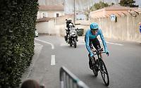 Luis León Sánchez (ESP/Astana)<br /> <br /> Stage 5 (ITT): Barbentane to Barbentane (25km)<br /> 77th Paris - Nice 2019 (2.UWT)<br /> <br /> ©kramon