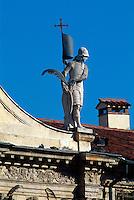 Italien, Venetien-Friaul, Vicenza, Detail Chiesa di San Vincenzo, Unesco-Weltkulturerbe