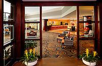 Omni Charlotte Hotel lobby...Photo by: PatrickSchneiderPhoto.com
