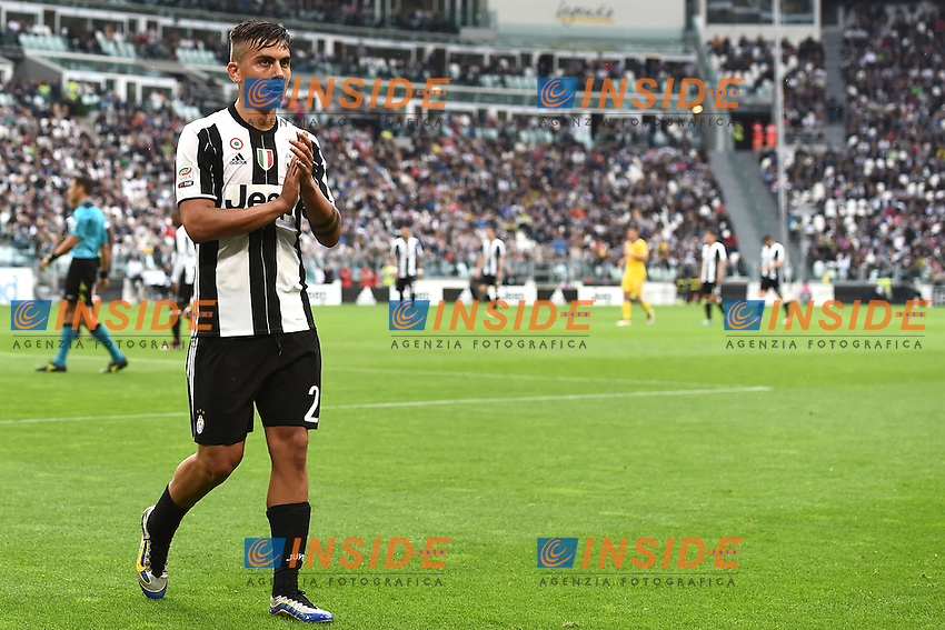 Paulo Dybala<br /> Torino 14-05-2016 Stadio Olimpico Football Calcio Serie A 2015/2016 Juventus-Sampdoria. Foto Matteo Gribaudi / Image Sport / Insidefoto