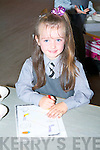 Paris McDonagh on her first day of school..   Copyright Kerry's Eye 2008