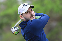 Matthew Nixon (ENG) in action on 1st tee during the second round of the Magical Kenya Open presented by ABSA played at Karen Country Club, Nairobi, Kenya. 15/03/2019<br /> Picture: Golffile | Phil Inglis<br /> <br /> <br /> All photo usage must carry mandatory copyright credit (&copy; Golffile | Phil Inglis)