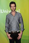 David Walton arriving at the 'NBC Universal's Summer Press Day' held at Langham Huntington Hotel Pasadena, CA. April 8, 2014.