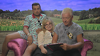 Celebrity Big Brother 2017<br /> Paul Danan, Helen Lederer, Derek Acorah<br /> *Editorial Use Only*<br /> CAP/KFS<br /> Image supplied by Capital Pictures