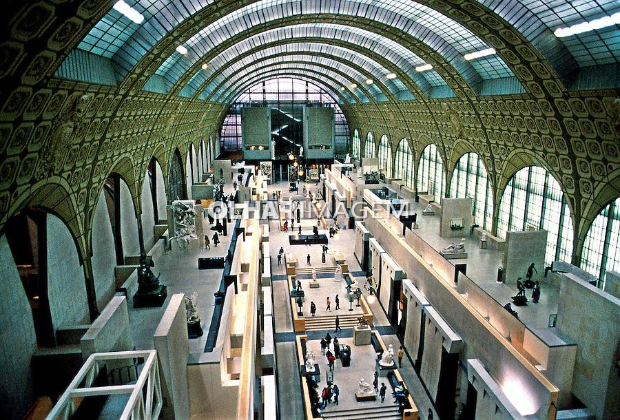 Museu D'Orsay em Paris. França. 1992. Foto de Monica Vendramini.