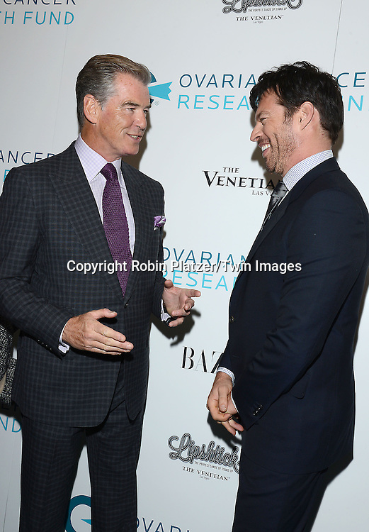 Pierce Brosnan and Harry Connick, Jr attend the Ovarian Cancer Research Fund's  20th Anniversary Legends Gala on November 5, 2015 at the Pierre Hotel in New York City. <br /> <br /> photo by Robin Platzer/Twin Images<br />  <br /> phone number 212-935-0770