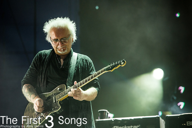 Reeves Gabrels of The Cure performs at the 2nd Annual BottleRock Napa Festival at Napa Valley Expo in Napa, California.