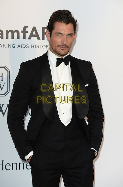 David Gandy - arrivals at amfAR&rsquo;s Cinema Agains Aids Gala at Hotel du Cap, Antibes during the Cannes Film Festival on May 21, 2015 in Cap d'Antibes, France.<br /> CAP/CAS<br /> &copy;Bob Cass/Capital Pictures
