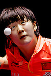 Athelete in action during the ITTF World Team Table Tennis Championship 2014 at the Yoyogi National Gymnasium on April 29, 2014 in Tokyo, Japan. Photo by Alan Siu / Power Sport Images