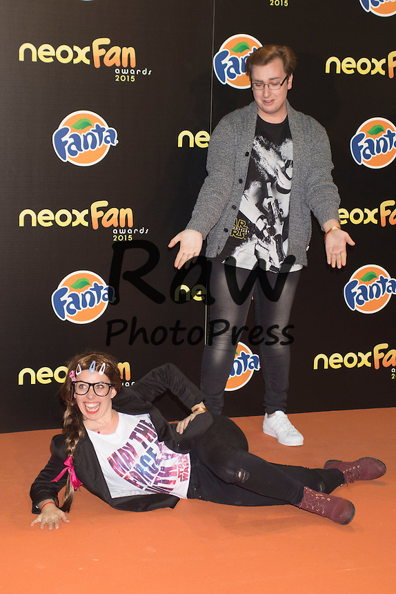 Los Premios Neox Fan Awards se han entregado en Madrid.<br /> <br /> Neox Fan Awards ceremony held in Madrid on Ocotober 28th, 2015.