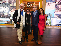 PASADENA, CA - JANUARY 17: (L-R) National Geographic Explores-at-Large Dereck Joubert and Beverly Joubert, National Geographic Explorer & Photographer Brian Skerry, and National Geographic Explorer Dr. Rae Wynn-Grant attends the National Geographic 2020 TCA Winter Press Tour Party at the Langham Huntington on January 17, 2020 in Pasadena, California. (Photo by Frank Micelotta/National Geographic/PictureGroup)
