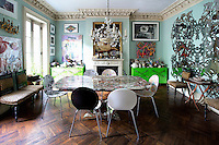 kitschy dining table