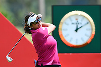 SINGAPORE - MARCH 03: Gerina Piller of USA on the 17th tee during the final round of the HSBC Women's World Championship 2019 at Sentosa Golf Club - Tanjong Course, Singapore on March 03, 2019.<br /> .<br /> .<br /> .<br /> (Photo by: Naratip Golf Srisupab/SEALs Sports Images)<br /> .<br /> Any image use must include a mandatory credit line adjacent to the content which should read: Naratip Golf Srisupab/SEALs Sports Images