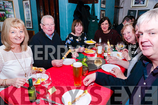 Tapa's Night: Attending the Tapa's night at McCarthy's Bar, Finuge on Friday night last were Mary Hennessy, Pat & Maureen Lynch, Eleanor Horgan, Carol Strich , Mary Leahy & John Hennessy,