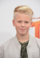 LOS ANGELES, CA. October 23, 2016: Recording artist Carson Lueders at the Los Angeles premiere of &quot;Trolls&quot; at the Regency Village Theatre, Westwood.<br /> Picture: Paul Smith/Featureflash/SilverHub 0208 004 5359/ 07711 972644 Editors@silverhubmedia.com