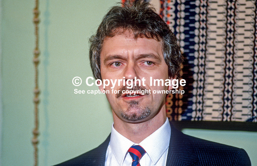 Paddy Maguinness, N Ireland organiser, Concern, third-world charity, 19880103PM..Copyright Image from Victor Patterson, 54 Dorchester Park, Belfast, UK, BT9 6RJ..Tel: +44 28 9066 1296.Mob: +44 7802 353836.Voicemail +44 20 8816 7153.Skype: victorpattersonbelfast.Email: victorpatterson@me.com.Email: victorpatterson@ireland.com (back-up)..IMPORTANT: If you wish to use this image or any other of my images please go to www.victorpatterson.com and click on the Terms & Conditions. Then contact me by email or phone with the reference number(s) of the image(s) concerned.