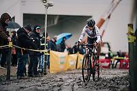 Nikkie Brammeier (GBR)<br /> <br /> Superprestige cyclocross Hoogstraten 2019 (BEL)<br /> Women's Race<br /> <br /> &copy;kramon